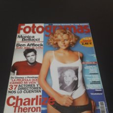 Cine: FOTOGRAMAS N° 1.906. AGOSTO 2002. CHARLIZE THERON.. Lote 193909445