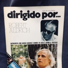 Cinema: LOTE 11 REVISTAS DIRIGIDO POR REVISTA CINE DIRECTORES CHARLES CHAPLIN LUIS BUÑUEL ACTORES 1975 76 . Lote 193983031