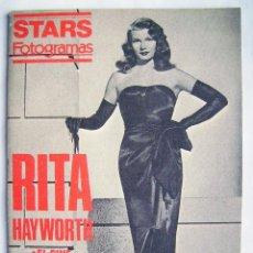 Cinema: RITA HAYWORTH. REVISTA STARS FOTOGRAMAS. 15 X 21 CMS.. Lote 193984093