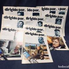 Cinema: LOTE 11 REVISTAS DIRIGIDO POR LUIS G BERLANGA JOHN HUSTON ACTORES ACTRICES AÑO 74 75. Lote 193984242
