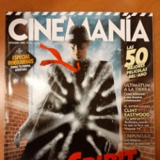 Cine: CINEMANIA 159 CLINT EASTWOOD SCARLETT JOHANSSON AMY ADAMS JAMES FRANCO J J ABRAMS. Lote 194107592