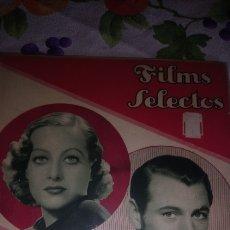 Cine: GARY COOPER Y. JOAN CRAWFORD FILMS SELECTO 1933. Lote 194193351