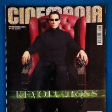 Cine: CINEMANIA - NOVIEMBRE 2001. Lote 194341556