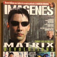 Cinema: IMÁGENES DE ACTUALIDAD N° 230 (2003). MATRIX, NICOLE KIDMAN, HUGH GRANT, BRUCE WILLIS,.... Lote 194353878