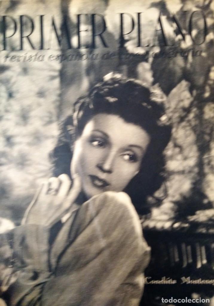 REVISTA PRIMER PLANO 1940 Nº 1 CONCHITA MONTENEGRO (Cine - Revistas - Primer plano)