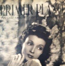 Cine: REVISTA PRIMER PLANO 1940 Nº 1 CONCHITA MONTENEGRO . Lote 194393295