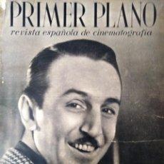 Cine: REVISTA PRIMER PLANO 1940 Nº 2 WALT DISNEY. Lote 194393412