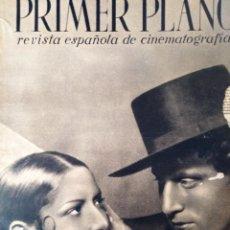 Cine: REVISTA PRIMER PLANO 1940 Nº 4 CARMEN AMAYA. Lote 194393586