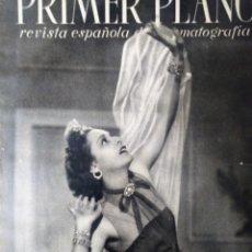 Cine: REVISTA PRIMER PLANO 1940 Nº 6 CELIA GAMEZ. Lote 194393710