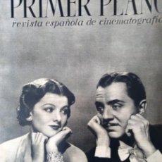 Cine: REVISTA PRIMER PLANO 1940 Nº 7 MYRNA LOY . Lote 194393791