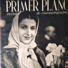 Cine: REVISTA PRIMER PLANO 1940 Nº 8 MARIA GUERRERO. Lote 194393852