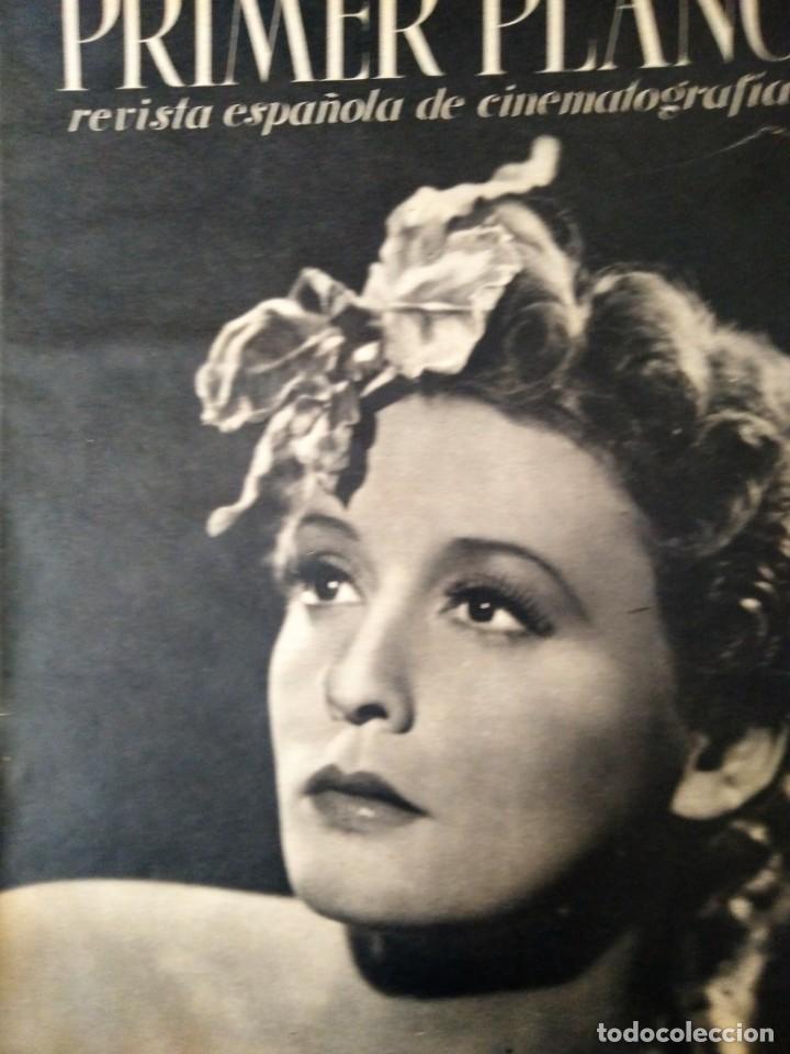 REVISTA PRIMER PLANO 1940 Nº 9 ZARAH LEANDER (Cine - Revistas - Primer plano)