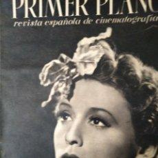Cine: REVISTA PRIMER PLANO 1940 Nº 9 ZARAH LEANDER. Lote 194393950