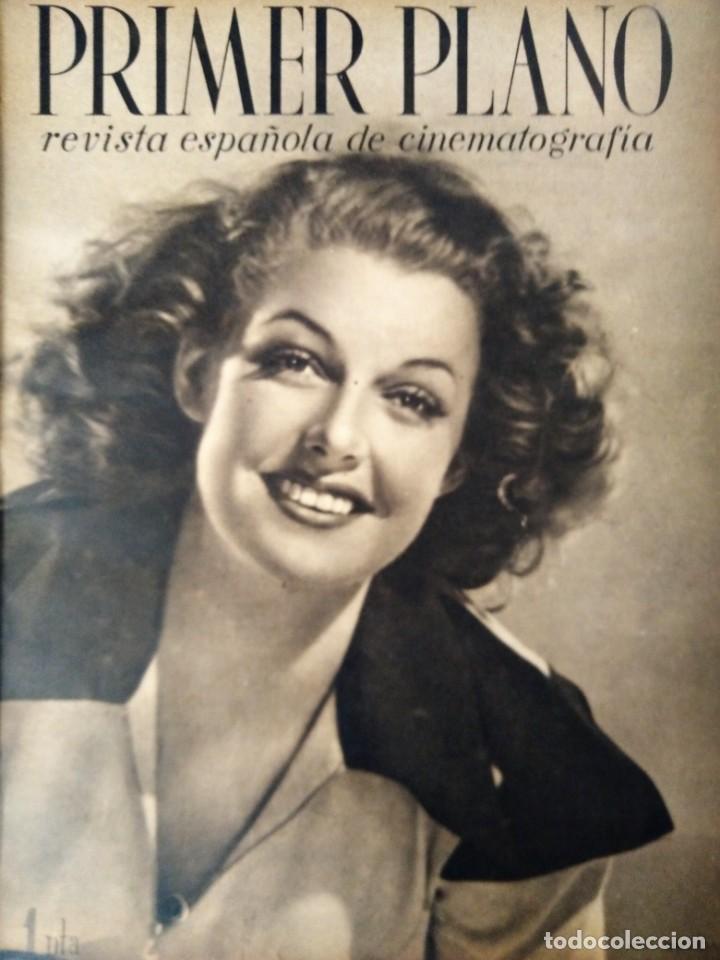 REVISTA PRIMER PLANO 1941 Nº 16 ANN SHERIDAN (Cine - Revistas - Primer plano)