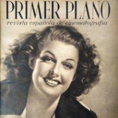 Cine: REVISTA PRIMER PLANO 1941 Nº 16 ANN SHERIDAN . Lote 194394395