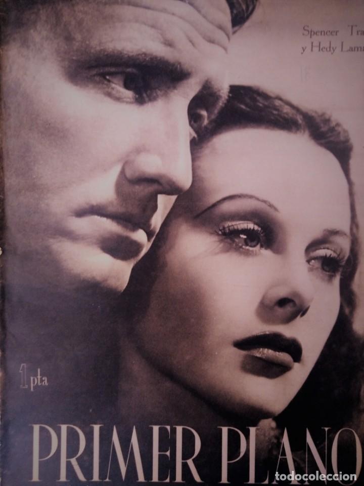 REVISTA PRIMER PLANO 1941 Nº 18 SPENCER TRACY-HEDY LAMARR (Cine - Revistas - Primer plano)