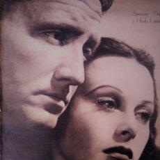 Cine: REVISTA PRIMER PLANO 1941 Nº 18 SPENCER TRACY-HEDY LAMARR . Lote 194394498