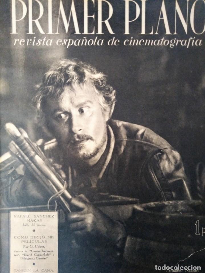 REVISTA PRIMER PLANO 1941 Nº 24 AMEDEO NAZZARI (Cine - Revistas - Primer plano)