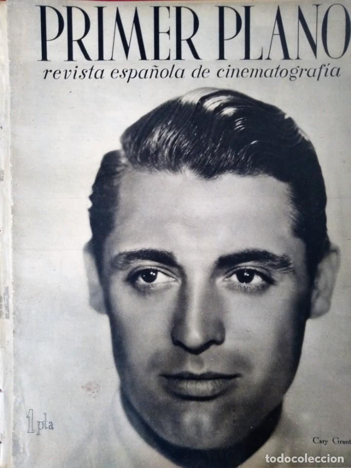 REVISTA PRIMER PLANO 1941 Nº 22 CARY GRANT (Cine - Revistas - Primer plano)