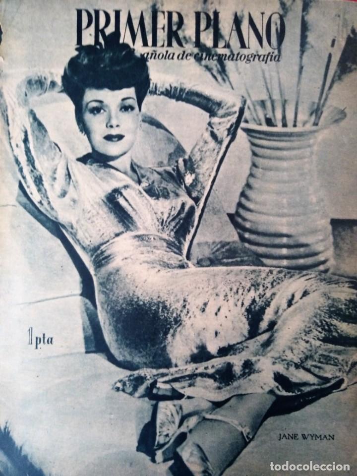 REVISTA PRIMER PLANO 1945 Nº 248 JANE WYMAN (Cine - Revistas - Primer plano)