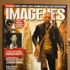 Cine: IMÁGENES DE ACTUALIDAD N° 280 (2007). RUSSELL CROWE, DENZEL WASHINGTON, RIDLEY SCOTT,.... Lote 194523892