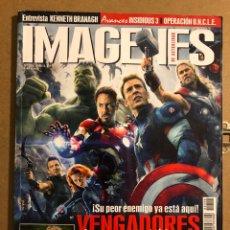 Cine: IMÁGENES DE ACTUALIDAD N° 356 (2015). LOS VENGADORES, KENNETH BRANAGH, FAST & FURIOUS 7,.... Lote 194525896