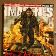 Cine: IMÁGENES DE ACTUALIDAD N° 357 (2015). MAD MAX, CHRIS EVANS, CHRIS HEMSWORTH,.... Lote 194526072
