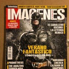Cine: IMÁGENES DE ACTUALIDAD N° 326 (2012). BATMAN: EL CABALLERO OSCURO, ANDREW GARFIELD,.... Lote 194530416