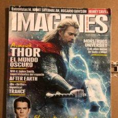 Cine: IMÁGENES DE ACTUALIDAD N° 336 (2013). THOR, SUPERMAN, HENRY CAVILL, ROSARIO DAWSON,.... Lote 194530715