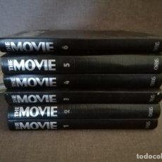 Cine: LOTE DE REVISTAS THE MOVIE, DEL 1 AL 64 ENCUADERNADAS EN 6 VOLÚMENES, 1970´S. Lote 194580588