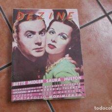 Cine: DEZINE Nº 1, BETTE MIDLER ,SAURA ,HUSTON, GROUCHO MARXS,PORFOLIO :MOVIMIENTO, ROSA CHANEL. Lote 194659971