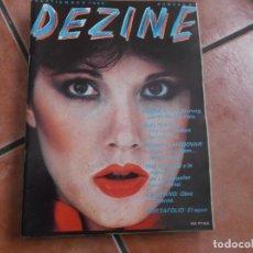 Cine: DEZINE Nº 4, KUBRICK,PEDRO ALMODOVAR,PORFOLIO :AGUA, 1980. Lote 194660155