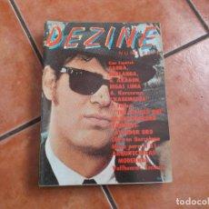 Cine: DEZINE Nº 6, 1980, CINE ESPAÑOL:SAURA,BERLANGA,G.ARAGON,BIGAS LUNA, KUROSAWA, RAMONES. Lote 194660376