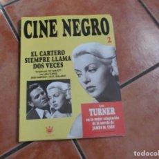 Cine: FASCICULO CINE NEGRO Nº 2,LA DECADA PRODIGIOSA LOS AÑOS CUARENTA, 12 PAGINAS, RBA EDITORES. Lote 194666817