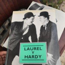 Cine: LAUREL Y HARDY - LIBRO DE FOTOGRAFÍAS - GRAN FORMATO 27,5 X 37,5 - EDITORIAL LIBSA - AÑO 1991. Lote 194707406