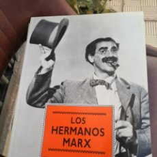 Cine: LOS HERMANOS MARX - LIBRO DE FOTOGRAFÍAS FORMATO 27,5 X 37,5 - EDITORIAL LIBSA - AÑO 1991. Lote 194708013