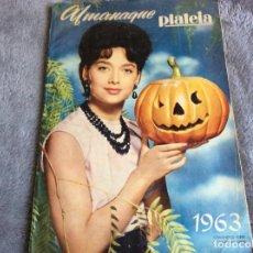 Cine: ALMANAQUE PLATEIA, 1963. MUY ILUSTRADO. ENVIO GRÁTIS.. Lote 194725995