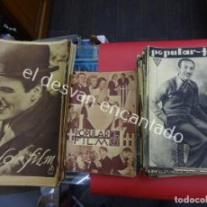 Cine: POPULAR FILM. LOTE 150 REVISTAS AÑOS 1930S. DIFERENTES FOMATOS. IDEAL CINÉFILOS. Lote 194882727