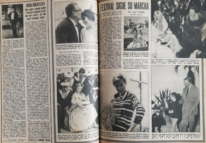 Cine: REVISTA CINE MUNDO 1958 JOANNA MOORESMAS JAYNE MANSFIELD CHARLES CHAPLIN DIANA DORS JANET LEIGH BRIG - Foto 2 - 194895465