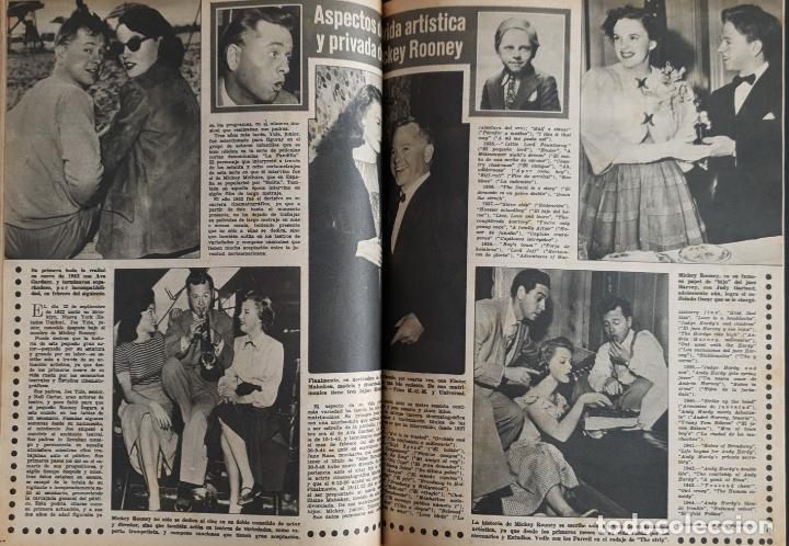 Cine: REVISTA CINE MUNDO 1958 JOANNA MOORESMAS JAYNE MANSFIELD CHARLES CHAPLIN DIANA DORS JANET LEIGH BRIG - Foto 4 - 194895465
