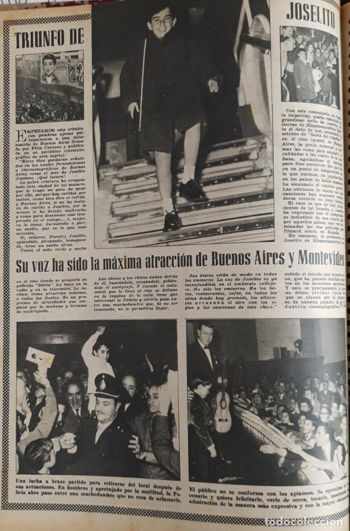 Cine: REVISTA CINE MUNDO 1958 JOANNA MOORESMAS JAYNE MANSFIELD CHARLES CHAPLIN DIANA DORS JANET LEIGH BRIG - Foto 5 - 194895465