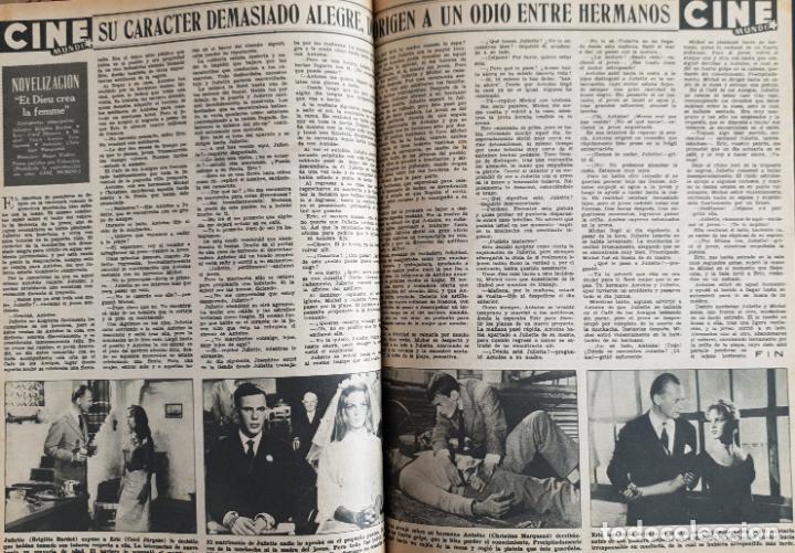 Cine: REVISTA CINE MUNDO 1958 JOANNA MOORESMAS JAYNE MANSFIELD CHARLES CHAPLIN DIANA DORS JANET LEIGH BRIG - Foto 6 - 194895465