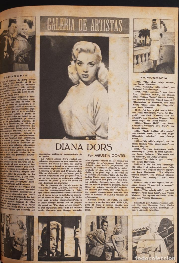 Cine: REVISTA CINE MUNDO 1958 JOANNA MOORESMAS JAYNE MANSFIELD CHARLES CHAPLIN DIANA DORS JANET LEIGH BRIG - Foto 8 - 194895465