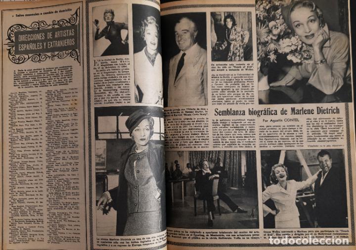 Cine: REVISTA CINE MUNDO 1958 JEAN SIMMONS MARLENE DIETRICH SOPHIA LOREN EN CONTRAPORTADA LANA TURNER - Foto 2 - 194896492