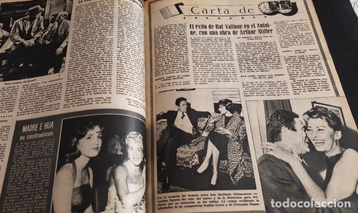 Cine: REVISTA CINE MUNDO 1958 JEAN SIMMONS MARLENE DIETRICH SOPHIA LOREN EN CONTRAPORTADA LANA TURNER - Foto 3 - 194896492