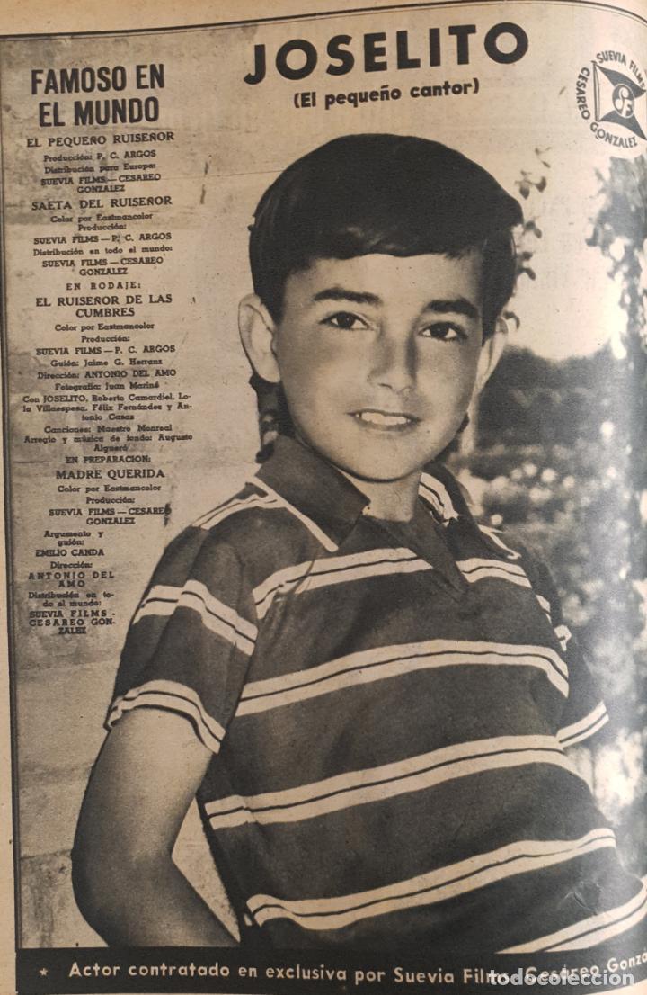 Cine: REVISTA CINE MUNDO 1958 MIOSHI UMERI JOSELITO SOPHIA LOREN LOS VIKINGOS TAB HUNTER MARLENE DIETRICH - Foto 2 - 194896830