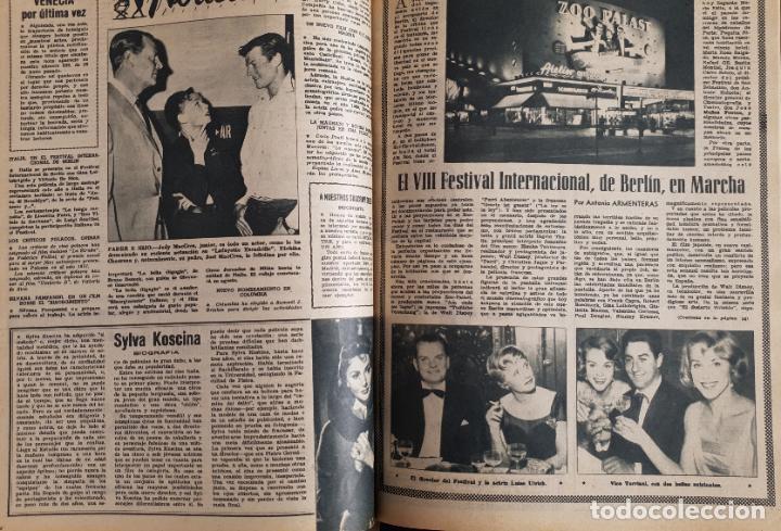Cine: REVISTA CINE MUNDO 1958 MIOSHI UMERI JOSELITO SOPHIA LOREN LOS VIKINGOS TAB HUNTER MARLENE DIETRICH - Foto 3 - 194896830