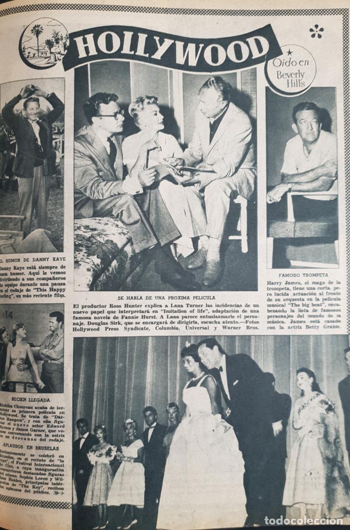 Cine: REVISTA CINE MUNDO 1958 MIOSHI UMERI JOSELITO SOPHIA LOREN LOS VIKINGOS TAB HUNTER MARLENE DIETRICH - Foto 4 - 194896830