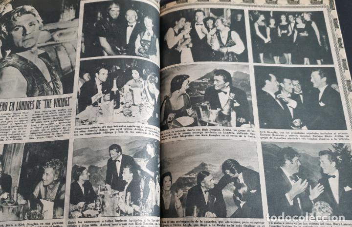Cine: REVISTA CINE MUNDO 1958 MIOSHI UMERI JOSELITO SOPHIA LOREN LOS VIKINGOS TAB HUNTER MARLENE DIETRICH - Foto 5 - 194896830