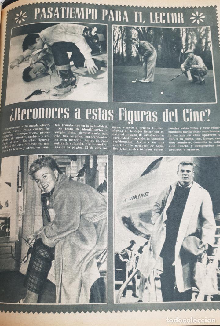Cine: REVISTA CINE MUNDO 1958 MIOSHI UMERI JOSELITO SOPHIA LOREN LOS VIKINGOS TAB HUNTER MARLENE DIETRICH - Foto 6 - 194896830